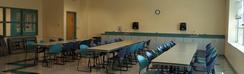 Photo of arts & crafts room