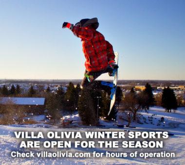 Villa Olivia winter sports open